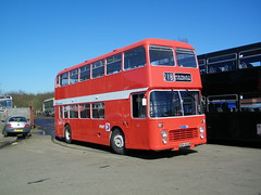 Ready for the new season. (Renown) Tags: heritage buses bristol nbc vrt stokeontrent preserved pops staffordshire rbw vr coaches doubledecker ecw pmt easterncoachworks poppyred potteriesmotortraction nationalbusco potteriesomnibuspreservationsociety reliancebusworks vrtsl6g