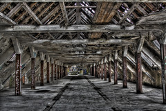 Abandoned places HDR 4 (Michis Bilder) Tags: abandoned graffiti industrial places hdr wasteland