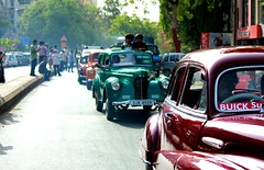 The long road home (Open Circle) Tags: urban india vintage urbanindia indianstreetphotography flickrcolour gujaratclassicandvintagecars