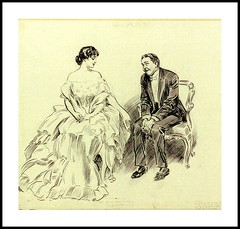 1904 ca  Cartoon -  Charles Dana Gibson -    A resolve. (carlylehold) Tags: ca opportunity robert cartoon bob dana charles join contact gibson 1904 keeper resolve haefner carlylehold bobchaefner