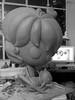 Proceso escultura (Anita Mejia) Tags: sculpture girl illustration cat drawing gato resina estatua masa barro frootloops escultra anitamejia