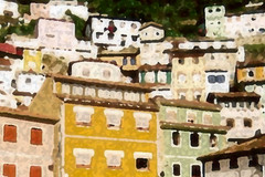 Cudillero (Jon Misato) Tags: espaa house color casa spain village edificio pueblo asturias dilute thin cudillero buiding staggered escalonado diluido mygearandme blinkagain rememberthatmomentlevel1