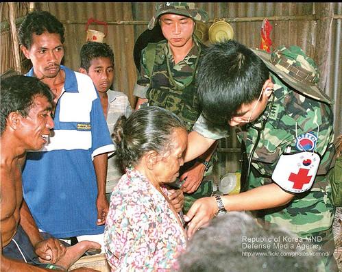 1991.1.3 동티모르-의료진료