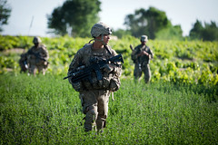 Field patrol (The U.S. Army) Tags: afghanistan hasan ghazni 1504pir