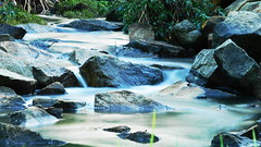 Water over rocks (Thielzy) Tags: nature water waterfall rocks flowing