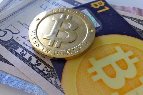 Bitcoins - foto di zcopley