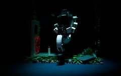 GLaDOS (1) (pitrek02) Tags: life 2 game pc lego science steam valve half portal aperute glados lugpol