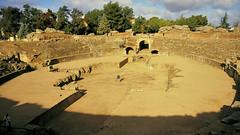 _DSC7630 Anx2 1600w Q90 (edk7) Tags: sunset canon spain ancient 2000 roman ruin arena kodachrome amphitheater ef excavation 2880mm mrida extremadura eos650 13556 edk7