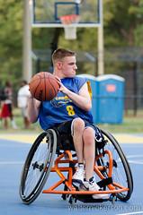Sportable Spokes CarMax Summer League July 3 2012 (nickersonw) Tags: basketball wheelchair spokes carmax wheelchairbasketball sportable sportablespokes
