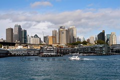 Sydney Wharf 3 - Circular Quay (thilakj) Tags: sea water skyscape harbor boat ship waterfront sydney australia circularquay cargo wharf nsw shipping darling nationalgeographic unload