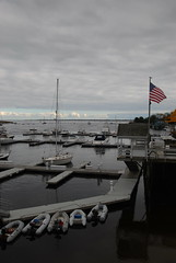 Newburyport Marina (bawoodvine) Tags: fall clouds docks boats massachusetts flags newburyport streamsandrivers