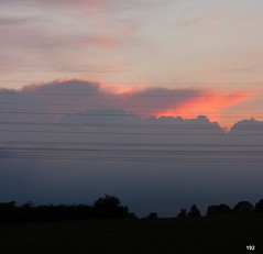 192 1007 - a hard rain is gonna fall (joe.laut) Tags: dylan silhouette clouds wolken wires juli lbeck 2012 hardrain regenfront joelaut mnkhagen