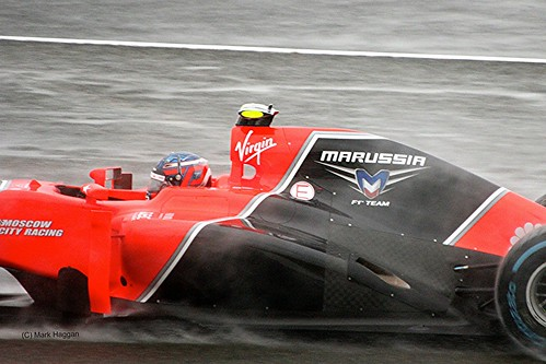 Charles Pic at Silverstone