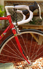 Front End (SteveCrowley) Tags: look open time brothers steel egg champion super special b17 600 record pro gazelle saddle campy brooks mavic crank beater mondial shimano campagnolo superrecord lugged wraparound ma3 rxs brooksb17 nuovorecord gazellechampionmondial championmondial