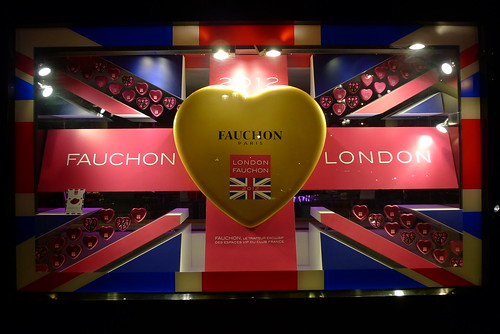 Vitrines Fauchon - Paris, juillet 2012