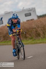 Nicki SORENSEN (wilfried.moulin) Tags: sport diffusion tourdefrance nicki vlo chartres 2012 chrono sorensen bonneval cyclisme contrelamontre