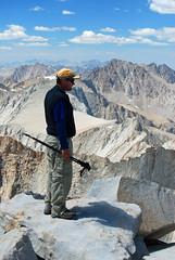 Summit Shot Mount Whitney 14495' (pilz8) Tags: california mountains hiking sierranevada highsierra pilz8