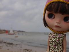 Oliendo el mar...