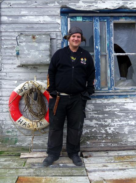 Aksel, my friend the Fisherman