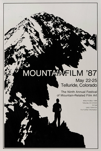 1987 Mountainfilm in Telluride Festival Poster