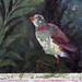Painted Garden, Villa of Livia, detail with standing bird