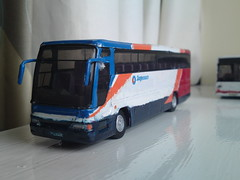 W383 PRC ex dunnline excalibur now in stagecoach livery with stagecoach decals. (Gainsborough Buses) Tags: 3 code stagecoach
