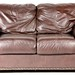 8. Contemporary Leather Loveseat