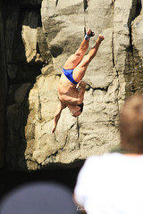 Red Bull Cliff Diver in action, Inis Mr (linda_mcnulty) Tags: ireland west men fall galway sports rock coast jump divers dof upsidedown action dive diving cliffs atlantic freeze diver reach extremesports redbull cliffdiving aranislands inishmore seas inismor inismhor