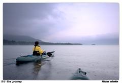 It's the journey (Nicolas Valentin) Tags: weather scotland scenery europe kayak alba scenic wilderness ecosse kayakfishing kayakpike kayakscotland