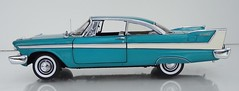 1958 Plymouth Belvedere Hardtop (JCarnutz) Tags: plymouth 1958 belvedere diecast franklinmint 124scale