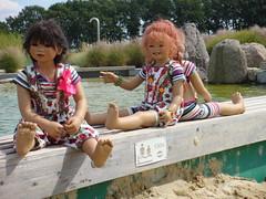 Setina Sanrike Anne-Moni (Kindergartenkinder) Tags: wasser dolls sommer setina annettehimstedt annemoni kindergartenkinder himstedtkinder sanrike naturbadolfen