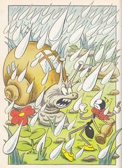 Sekora / Die grossen Abenteuer des kleinen Ferdinand / Bild 03 (micky the pixel) Tags: buch book snail ferdinand livre schnecke kinderbuch dieameiseferdu ferdův ondřejsekora diegrossenabenteuerdeskleinenferdinand