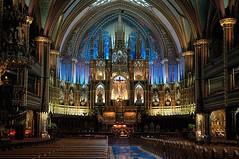 notre dame basilica (Mr.  Mark) Tags: canada church photo catholic quebec montreal interior gothic stock chapel altar oldmontreal ornate sanctuary notredamebasilica vieuxmontreal markboucher