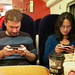 Techies on the train!