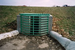 OregonWI_MerriHillCulv (Aaron Volkening) Tags: wisconsin infrastructure culvert drainage stormwater trashrack retentionbasin oregonwi controlstructure hydraulicstructure outletstructure villageoforegon