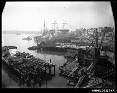 Dockyard from Millers Point, Sydney Harbour