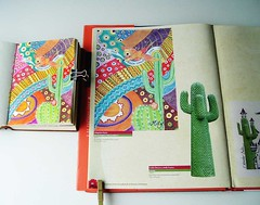 Published Artwork (Milagritos9) Tags: mexico patterns watercolours moleskineart journalpages mily artistjournal illustratedbook visualdiary milagritos birdillustration bookpages illustratedjournal publishedartwork birdjournal inspirationaljournal universidadautónomachapingo fridakahloillustration pájaroillustración artistjournalpages laspitayasbook pitayaspintura captuspainting