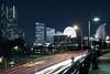 Yokohama Smart Traffic Illumination (spiraldelight) Tags: night cityscape yokohama 横浜 ef24105mmf4lisusm eos5dmkii