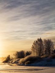 Lainio (G. Runar) Tags: kyla se vinter frost sverige kiruna snö laufás lainio lainioälv kirunanorrbotten