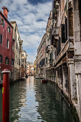 Venice (MaxSkyMax) Tags: venice windows italy clouds canon boats mirror italia nuvole day fair pole venezia riflessi relfection canale specchio canonefs1585mmf3556isusm mygearandme mygearandmepremium mygearandmebronze mygearandmesilver