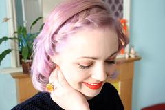 lavenders and peach 3 (Emma - Dear Thirty) Tags: hair pastel lavenderhair