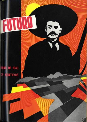 Portada de Josep Renau Berenguer para la Revista Futuro (abril de 1943)