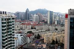 Qingdao buildings (lilia.lindrec) Tags: china city sea beach buildings olympics qingdao urbanjungle chine