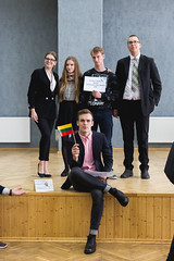 IMG_5513 (Aneta Urbon) Tags: school people students high model european shot group parliament indoor indoors politicians inside lithuania lithuanian mep meplt mepsiauliai