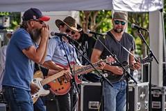 The Harmonica Rules (brev99) Tags: music musicians concert microphones guitars harmonica mikestands d90 ononesoftware reddirtrangers tamron28300xrdiif guthriegreen perfecteffects9