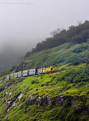Monsoon and Matheran (ABHIJEET RAMESH JAGTAP) Tags: travel india mist mountains fog train landscape landscapes nikon asia outdoor weekend indian hills nomad maharashtra tamron hillstation matheran traveler toytrain marathi maratha tamron70300 raigad abhijeet jagtap incredibleindia d5200 iamnikon nikond5200 abhitap weekendgateaway