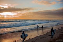 Rhys and Jorin Shakkkkaa Sunset, South Australia (justinedwards4) Tags: friends sand surf waves surfer australia shaka serene mates southaustralia wetsuit