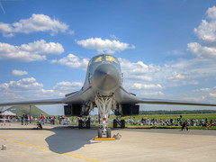 Rockwell B-1B at Berlin Air Show 2016 (zimmermannj6673) Tags: berlin aircraft rockwell hdr b1b