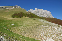 Bove nord dalla val di Panico (EmozionInUnClick - l'Avventuriero's photos) Tags: panorama montagna sibillini valdipanico montebovenord