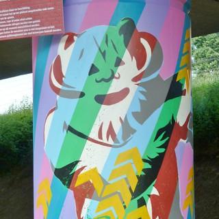 Graffiti Antwerp Luchtbal revisit